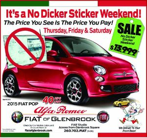 No dicker sticker weekend for Shaver motors fort wayne